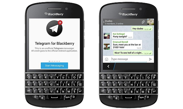 Telegram for Blackberry