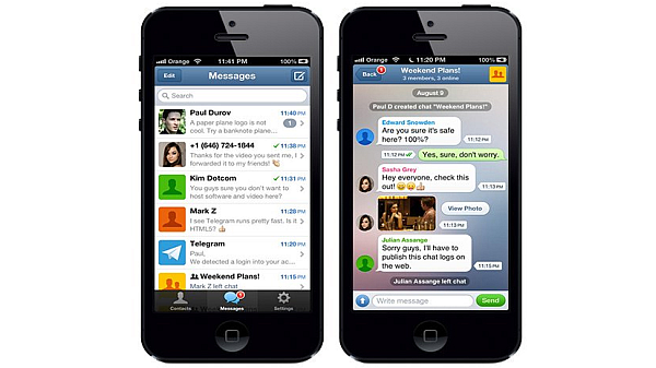 Telegram for iPhone