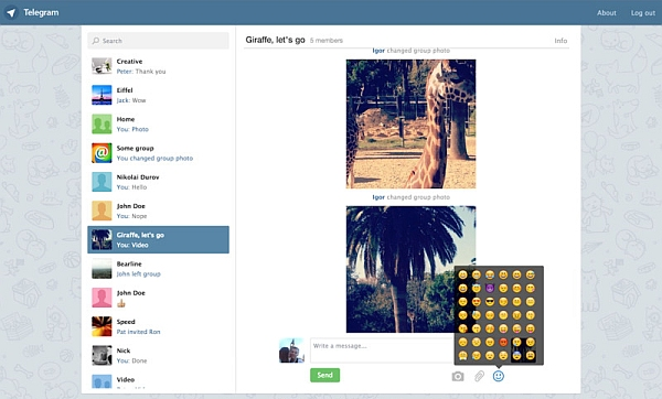 Telegram for desktop تنزيل.