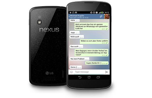 Telegram for Google Nexus