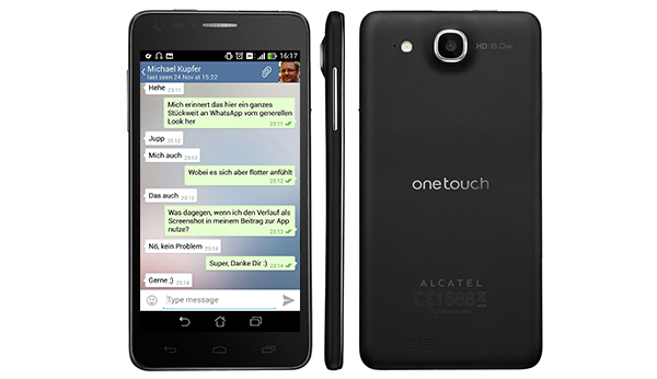 telegram Alcatel One Touch Idol Ultra