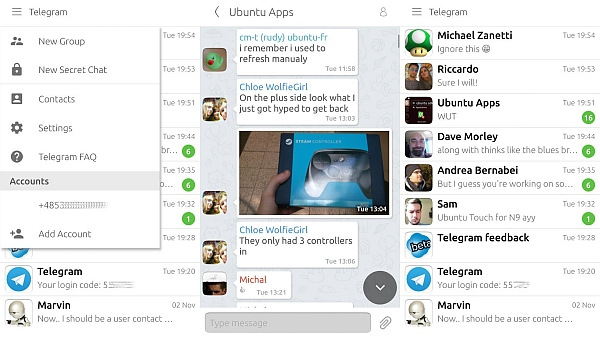 Download Telegram 2.0.4.0 for Android, iOS and Ubuntu