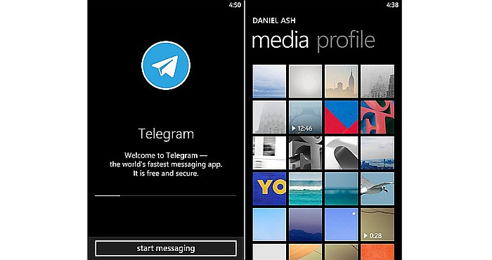 Windows Phone gives Telegram a New Photo Mode